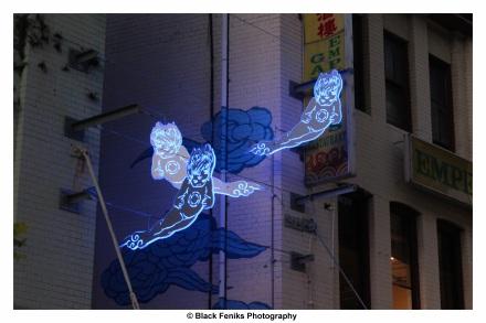 'Spirit Figures' Sydney's Chinatown