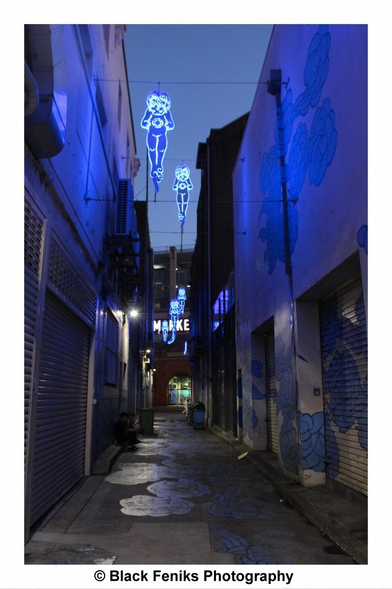 Spirit Figures - Sydney's Chinatown