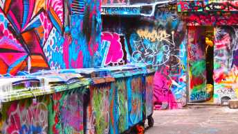 Hosier Lane - April 2016