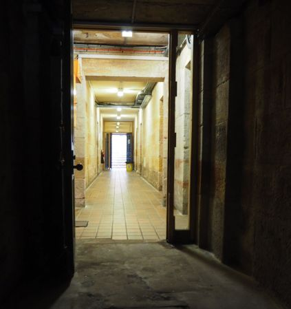Prisoner tunnel